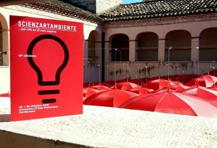Festival Scienzartambiente al via: una sintesi tra l'arte, la letteratura e la scienza