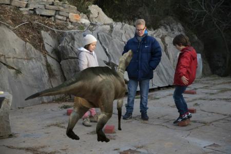 Jurassic Park al Villaggio del Pescatore: il dinosauro Antonio rivive in realtà aumentata. Video