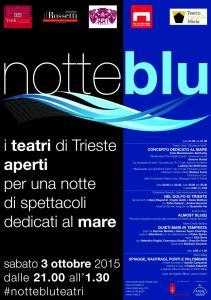 La Notte si fa Blu: i teatri di Trieste aperti per una notte di spettacoli dedicati al mare