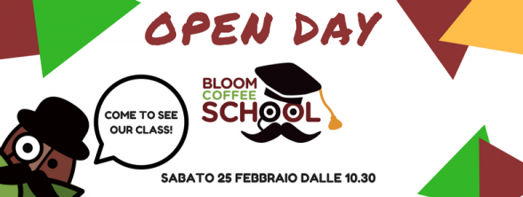 Open Day alla Bloom Coffee School