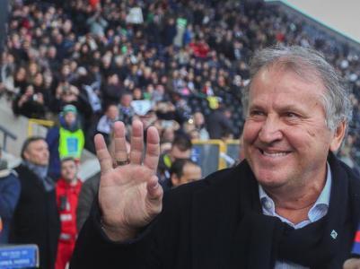 Il Sassuolo rovina la festa dell'Udinese nella giornata dedicata a Zico: tutte le foto